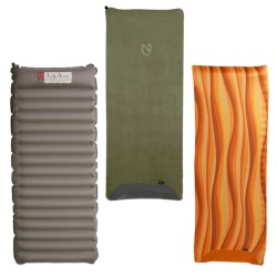 Nemo Astro Short Sleeping Pad with Pillow-Top Cover - Slipcover, 1-Person