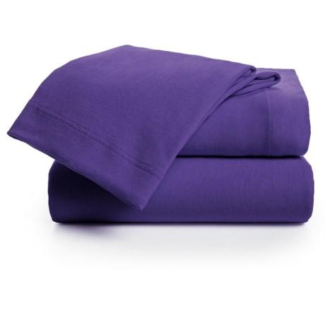 U.S. Polo Assn. Cotton Jersey Sheet Set - Queen