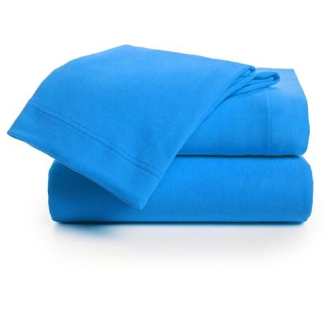 U.S. Polo Assn. Cotton Jersey Sheet Set - Twin