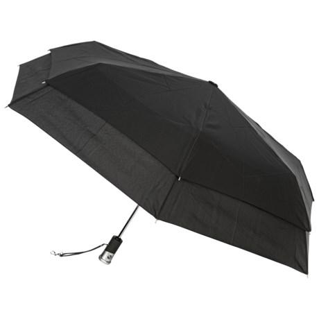 """London Fog Auto-Open/Close Umbrella with LED Light - 42"""""""