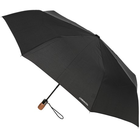 London Fog Auto-Open/Close Umbrella - Wood Handle, 42""