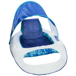SwimWays Spring Float Recliner - Canopy