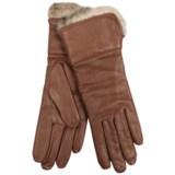 Cire by Grandoe Oralia Sheepskin Gloves - Wool Lining (For Women)