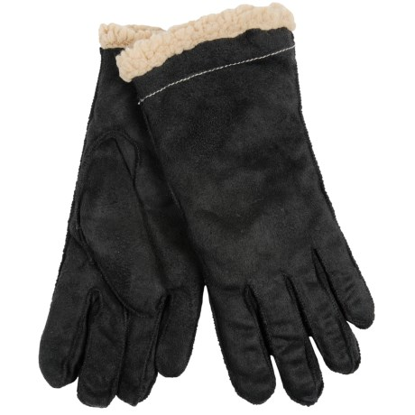 Cire by Grandoe Cozylamb Gloves - Snowfleece Lined (For Women)