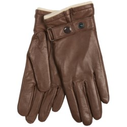 Cire by Grandoe Premium Sheepskin Gloves - Cashmere-Lined (For Women)