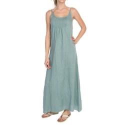 dylan Dylan by True Grit Maxi Slip Dress - Vintage Linen, Sleeveless (For Women)