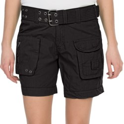 dylan Washed Shorts (For Women)
