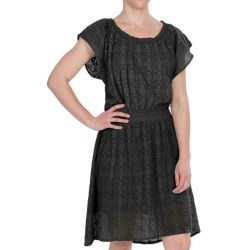 dylan Crochet Dress - Short Sleeve (For Women)