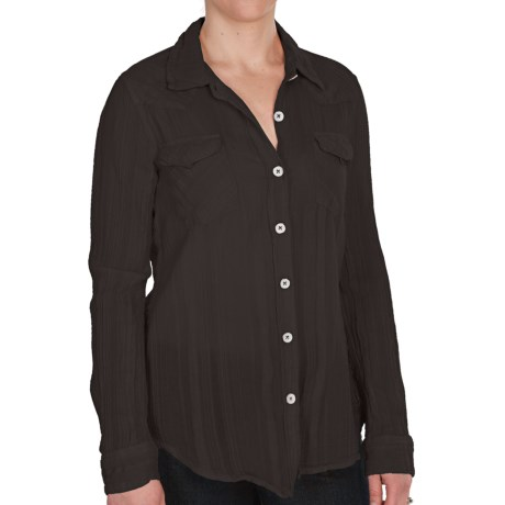 dylan Vintage Ranch Shirt - Long Sleeve (For Women)