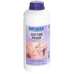 Nikwax Wash-In Cotton Proof Waterproofing- 1L
