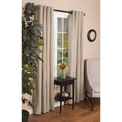 "United Curtain Co. Park Square Curtains - 108x84"", Grommet Top"