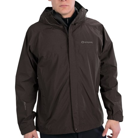 Gore tex jacket with pit zips