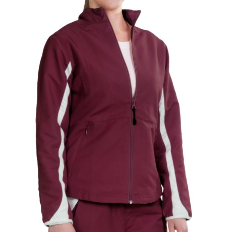 Russell Athletic Active Track Jacket - Full Zip (For Women)