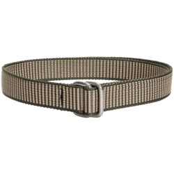 Bison Designs D-Ring Buckle Web Belt - 32mm (For Men and Women)