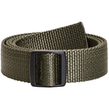 Bison Designs Slider Buckle Web Belt - 30mm (For Men and Women)