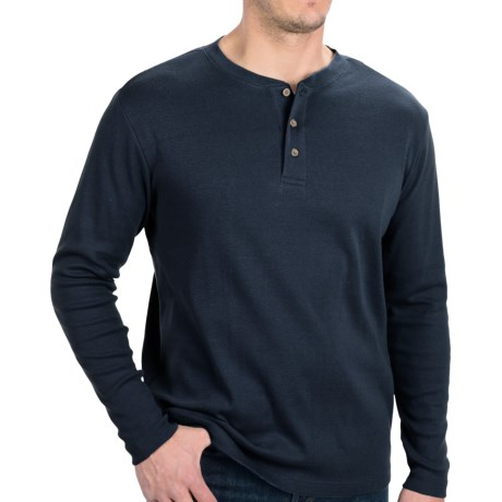 North Creek Traders Henley Shirt - Long Sleeve (For Men)