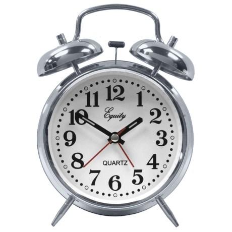 Equity by La Crosse Technology Quartz Alarm Clock
