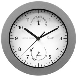 Equity by La Crosse Technology Thermometer and Humidity Wall Clock - 10""
