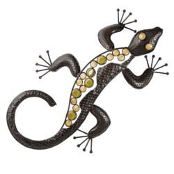 Ancient Graffiti Metal Garden Lizard