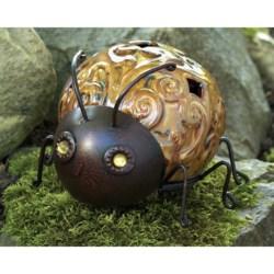Ancient Graffiti Metal Garden Beetle