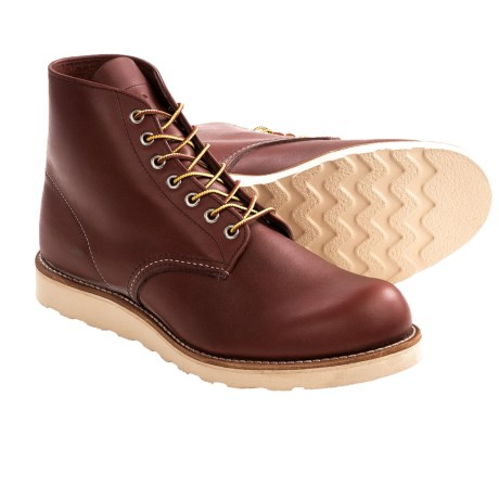 Red Wing Heritage 9105 Round-Toe Boots - Leather, Factory 2nds (For Men)