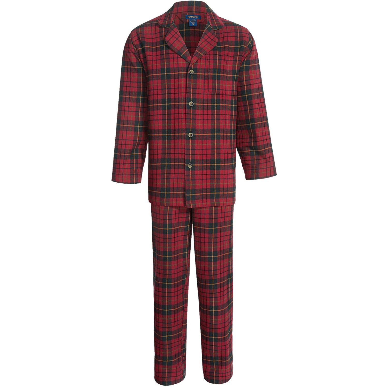 Pendleton Flannel Plaid Pajamas For Men 6768t Save 46