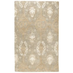 HRI Alden Collection All Natural Wool Rug - 5x8'