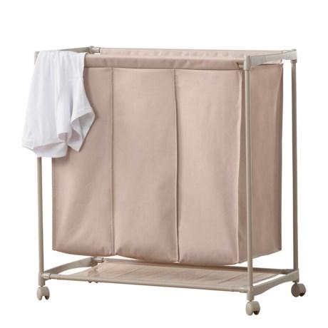 neatfreak! 3-Compartment Laundry Cart