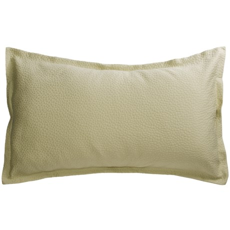 Barbara Barry Cloud Nine Pillow Sham - King, Cotton Matelasse