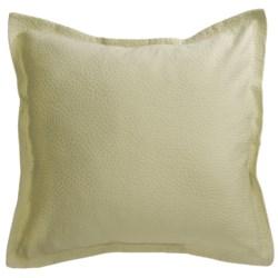 Barbara Barry Cloud Nine Pillow Sham - Euro, Cotton Matelasse