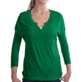 Specially made Soft Dolman Knit Shirt - 3/4 Sleeve (For Women)