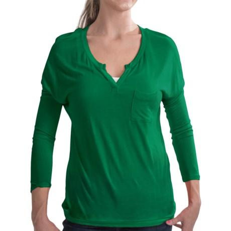 Soft Dolman Knit Shirt - 3/4 Sleeve (For Women)