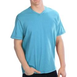 True Grit Secret Wash V-Neck T-Shirt - Cotton Jersey, Short Sleeve (For Men)