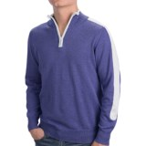 Specially made Cotton Zip Neck Shirt - Long Sleeve (For Men)