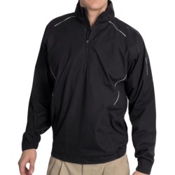 Specially made Golf Wind Shirt - Zip Neck, Long Sleeve (For Men)
