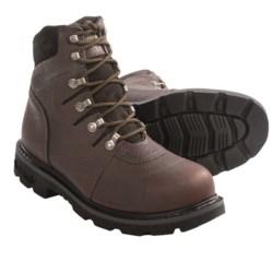 "Wolverine Iron Ridge Work Boots - 6"", Steel Toe (For Men)"