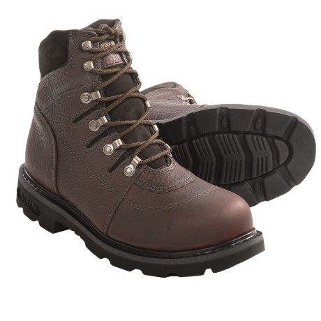"Wolverine Iron Ridge Work Boots - 6"", Steel Toe (For Men)"