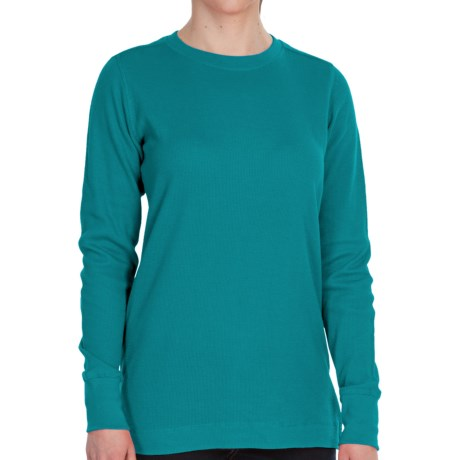 Dickies Thermal Crew Shirt - Long Sleeve (For Women)
