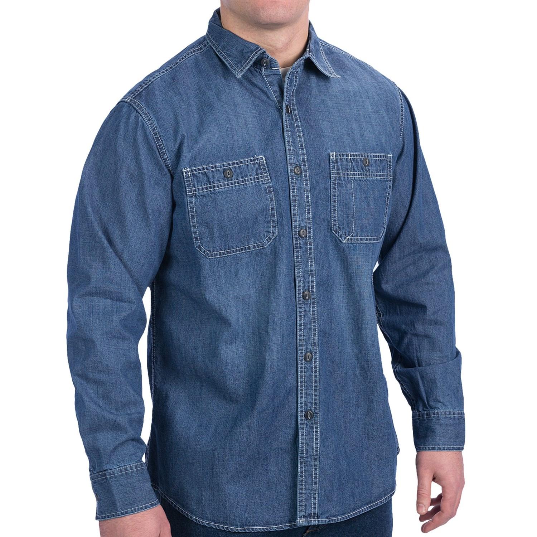 denim shirt pockets - photo #45