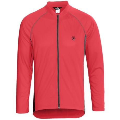 Canari Flash Cycling Jersey - Full Zip, Long Sleeve (For Men)