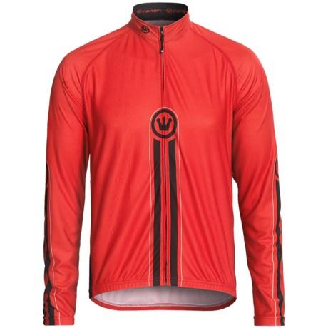 Canari Torque Cycling Jersey - Full Zip, Long Sleeve (For Men)
