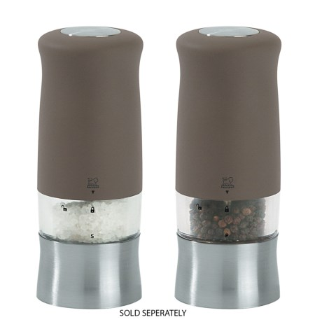 """Peugeot Zephir Electric Salt or Pepper Mill - Soft Touch, 5.5"""""""