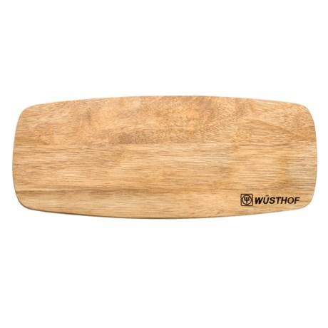 """Wusthof Rubber Wood Bread Board - 14-3/4x6"""""""