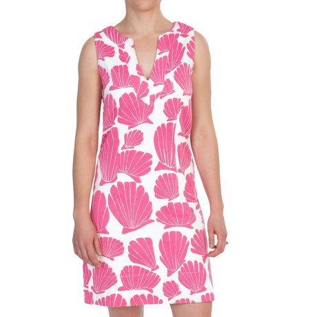 Hatley Woven Notch Neck Dress - Sleeveless (For Women)
