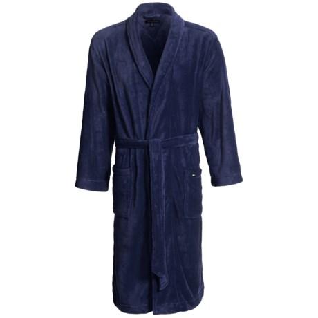 Tommy Hilfiger Plush Robe - Long Sleeve (For Men)