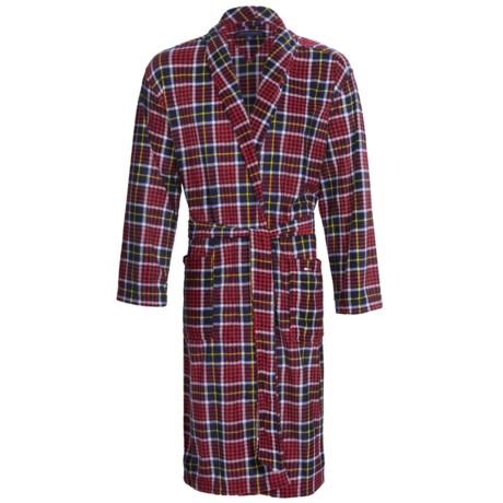 Tommy Hilfiger Microfleece Robe - Long Sleeve (For Men)