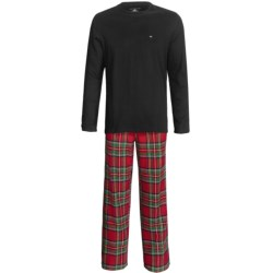 Tommy Hilfiger Cotton Pajamas Gift Set - Long Sleeve (For Men)
