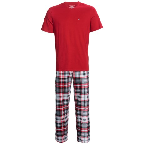 Tommy Hilfiger Cotton Pajamas - Short Sleeve (For Men)