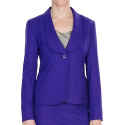 Pendleton Worsted Wool Crepe Debonair Jacket (For Women)