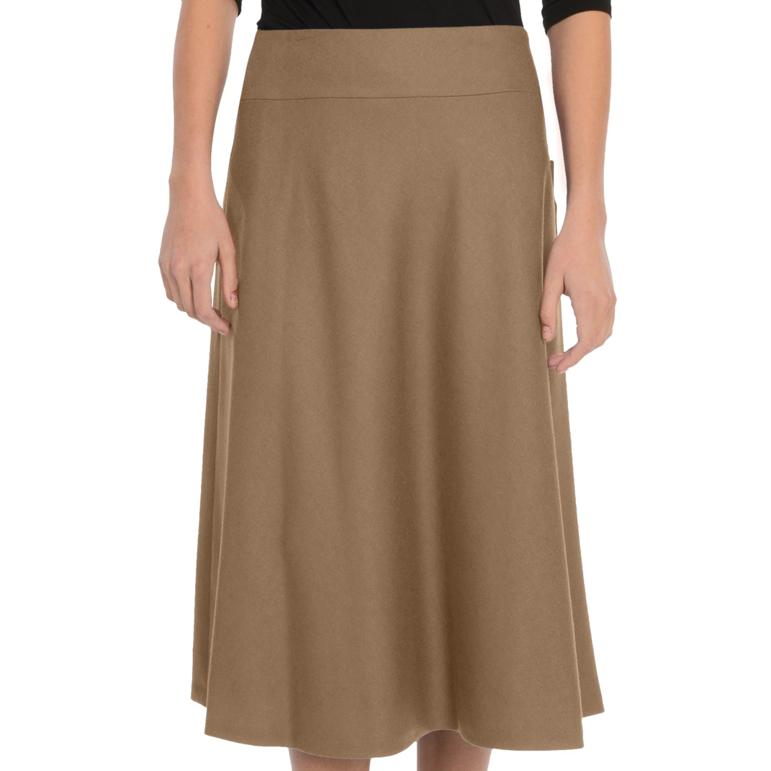 Plus Size Wool Skirt 73